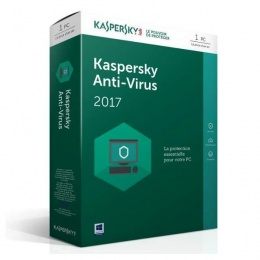 Kaspersky Antivirus 2017 3 korisnika, 1 + 3 mjeseca Gratis, Retail
