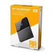 WD Externi 2TB MY Passport Black, WDBYFT0020BBK-WESN