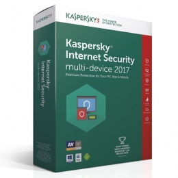 Kaspersky Internet Security MD 2017 3 korisnika, 1 + 3 mjeseca Gratis, Retail