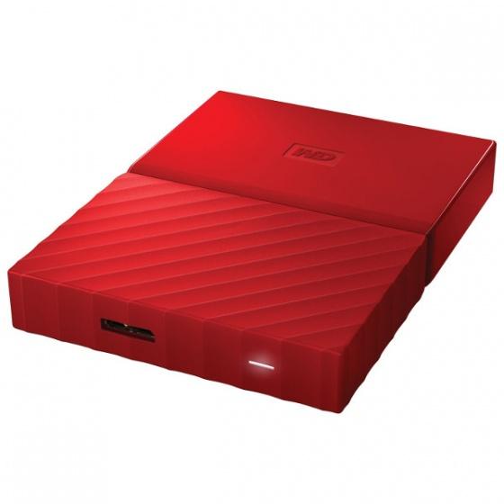 WD Externi 3TB MY Passport Red, WDBYFT0030BRD