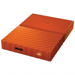 WD Externi 3TB MY Passport Orange, WDBYFT0030BOR