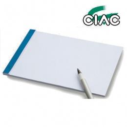 BLOK NOTES B7 8x12 CIAC
