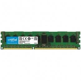 Crucial 4GB DDR3 1600 MT/s (PC3-12800) CL11 Unbuffered ECC UDIMM 240pin 1.35V/1.5V