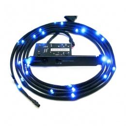 NZXT Sleeved LED Kit 1m plavi