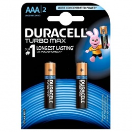 Duracell baterija TURBO MAX AAA 2kom