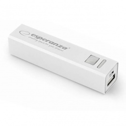 Esperanza power bank 2400mAh EMP102W bijeli