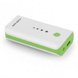 Esperanza power bank 5200mAh EMP104WG bijelo/zeleni