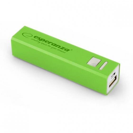 Esperanza power bank 2400mAh EMP102G zeleni