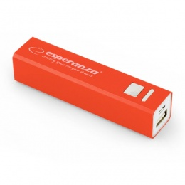 Esperanza power bank 2400mAh EMP102R crveni