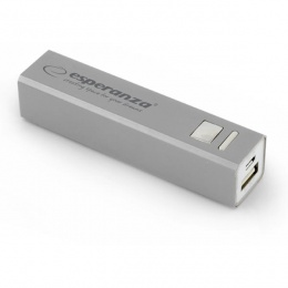 Esperanza power bank 2400mAh EMP102S silver