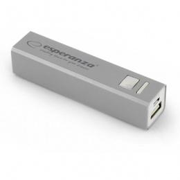 Esperanza power bank 2400mAh EMP102S silver