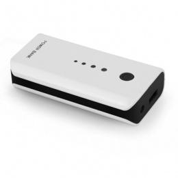 Esperanza power bank 5200mAh EMP104WK bijelo/crni