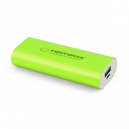 Esperanza power bank 4400mAh EMP105G zeleni