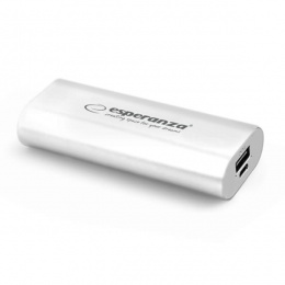 Esperanza power bank 4400mAh EMP105W bijeli