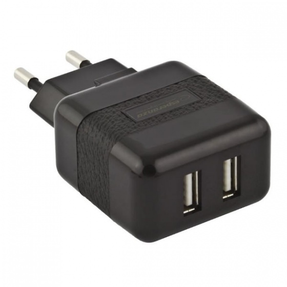 Esperanza univerzalni adapter za punjenje USB X2 2.1A