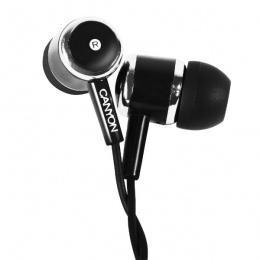Canyon slušalice s mikrofonom CNE-CEPM01B crne