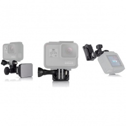 GoPro Helmet front, side mount