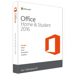 Microsoft Office Home and Student 2016 English, 79G-04669
