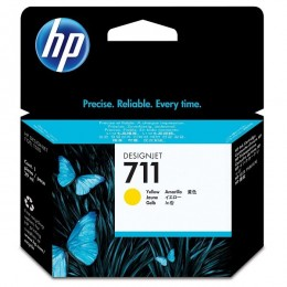 HP tinta CZ132A (No.711) Yellow