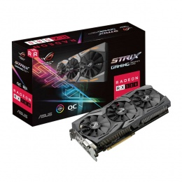 Asus STRIX AMD Radeon RX580-O8G-Gaming 8GB DDR5