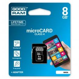 GOODRAM MC MicroSD 8GB, M40A-0080R11