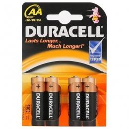 Duracell baterija BSC LR6 AA 4 kom