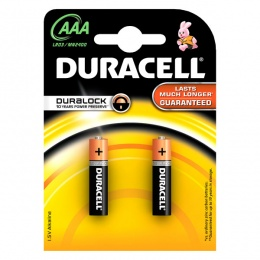 Duracell baterija BSC LR3 AAA 2 kom