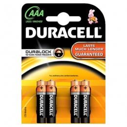 Duracell baterija BSC LR3 AAA 4 kom