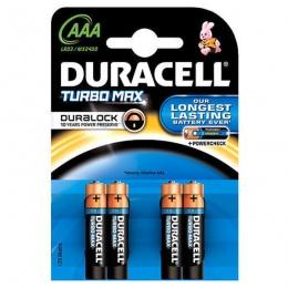 Duracell baterija TURBO MAX AAA 4 kom