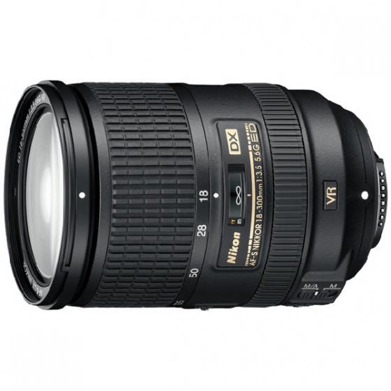 Nikon objektiv AF-S DX 18-300mm f/3.5-5.6G ED VR