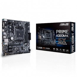 Asus MB Prime A320M-K, AM4, AMD A320