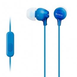 Sony slušalice EX15 plave