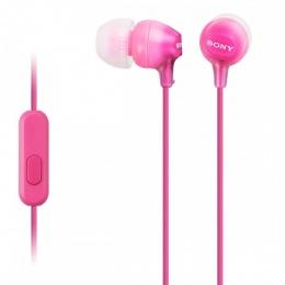 Sony slušalice EX15 roze
