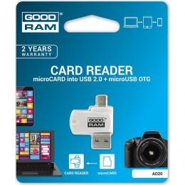 GOODRAM MicroSD OTG čitač kartica, AO20-MW01R11