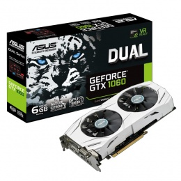 Asus DUAL nVidia GeForce GTX1060-6G 6GB DDR5