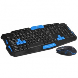 MS bežični desktop set ACROBAT 2 Gaming USB crni