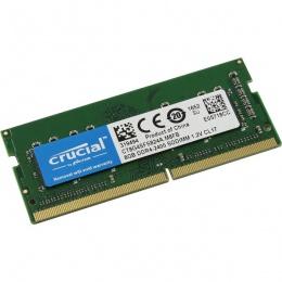 Crucial 8GB 2400 MHz DDR4 SODIMM, CT8G4SFS824A