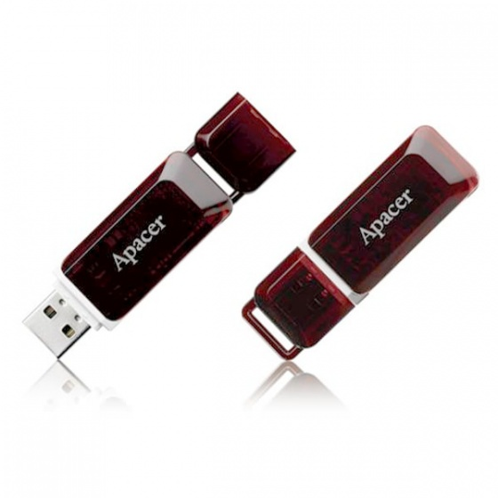 Apacer USB stick 16GB AH321 black/red