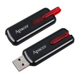 Apacer USB stick 16GB AH326 black