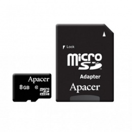 Apacer MC MicroSD 8GB Class 10