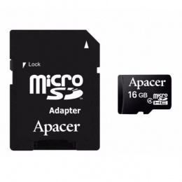 Apacer MC MicroSD 16GB Class 4