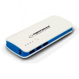 Esperanza power bank 8000mAh EMP106WB bijelo/plavi