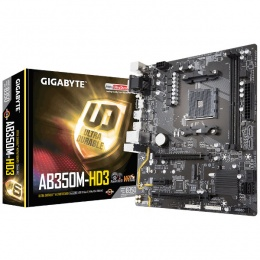 Gigabyte MB GA-AB350M-HD3, AM4, AMD B350
