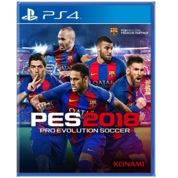 Pro Evolution Soccer 2018 za PS4