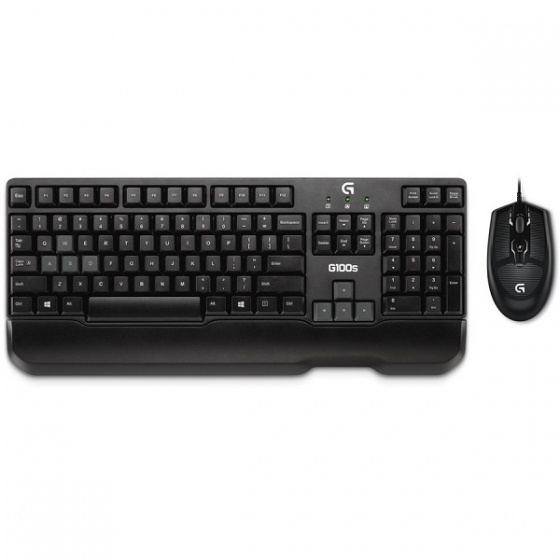 Logitech desktop set G100s Gaming