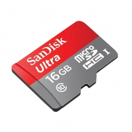 SanDisk MC MicroSD 16GB Class 10 Android, 48MB/s
