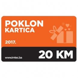 Imtec poklon kartica 20KM