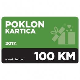Imtec poklon kartica 100KM