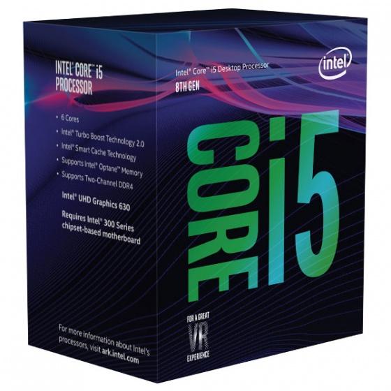 Intel Core i5 8400 2,80 GHz, LGA1151 BOX, Cofee Lake