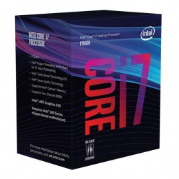 Intel Core i7 8700 3,20 GHz, LGA1151 BOX, Cofee Lake